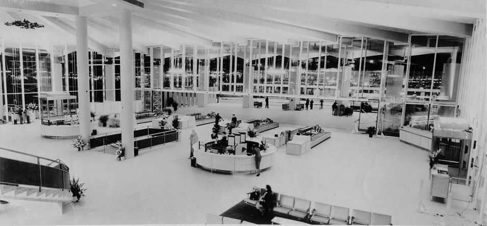 Passenger-Planned Interior: Worldport, 1960
