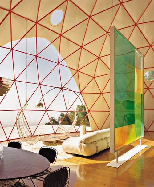 prefabricated-geodesic-dome-house-living-room